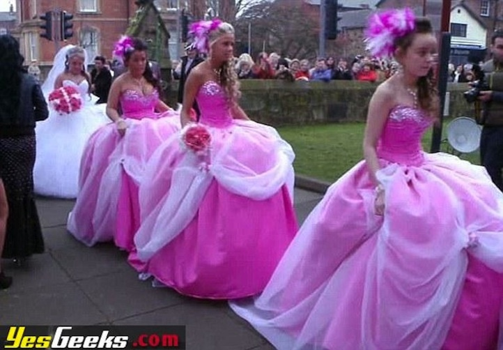 Ugly Dresscom  Bridesmaid Dresses From Hell