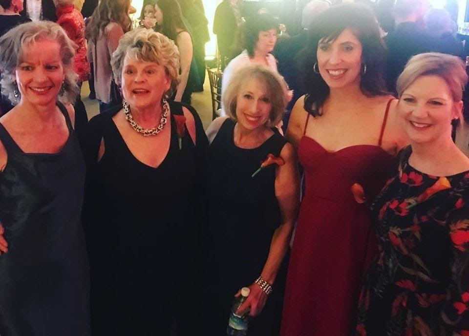 The women fully clothed wishing me good luck for being nominated for outstanding performance by a female Toronto Actra Award 2019