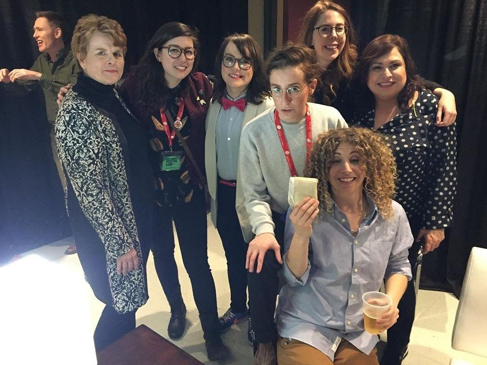 The comedy gals from Winnipeg Comedy Festival. 2017